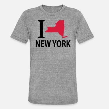 I Love New York I love New York - Unisex triblend t-paita