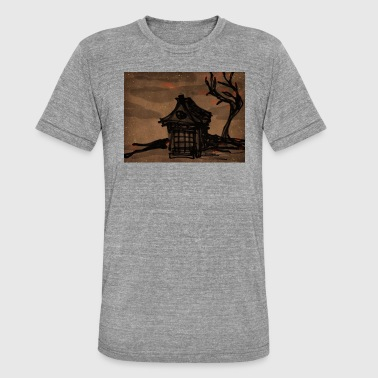 Cherry Tree Dojo and cherry tree - Unisex Tri-Blend T-Shirt by Bella & Canvas