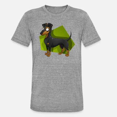 Groupe Manchester Terrier - T-shirt chiné unisexe