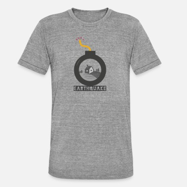 Earthquake Earthquake - Unisex Tri-Blend T-Shirt