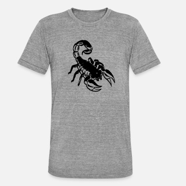 scorpion_logo_1 - T-shirt chiné unisexe
