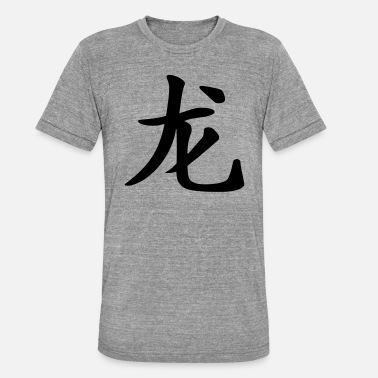 Dragon Dragon - Chinese horoscope - Unisex Tri-Blend T-Shirt