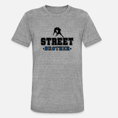 Street Fight Nazi Fight Street Brother - Unisex Tri-Blend T-Shirt