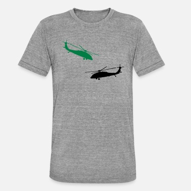Helicopter helicopter - Unisex Tri-Blend T-Shirt