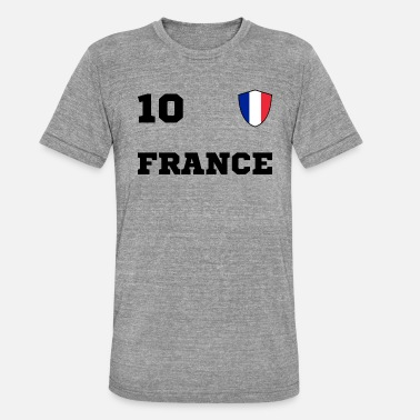 Maillot Equipe France Equipe d'Equipe FRANCE - T-shirt chiné unisexe