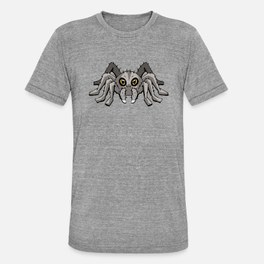 Tarantula Spider Spider tarantula tarantula comic - Unisex Tri-Blend T-Shirt by Bella & Canvas