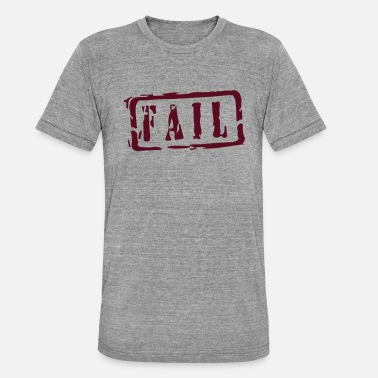 Writing fail writing - Triblend T-shirt unisex