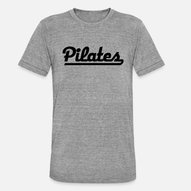 Pilate 2541614 115641970 Pilates - T-shirt chiné Bella + Canvas Unisexe