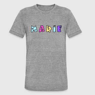 Mari Marie - Unisex tri-blend T-shirt fra Bella + Canvas