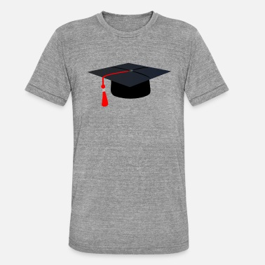 Absolvent Abitur Abschluss Absolvent Bachelor Master - Unisex Tri-Blend T-Shirt by Bella & Canvas