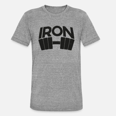 Iron Metal iron - Unisex Tri-Blend T-Shirt by Bella & Canvas