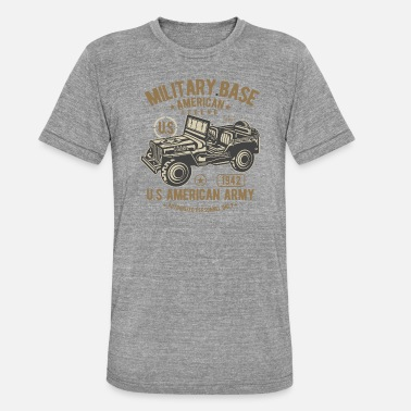 Us US Army - Triblend T-shirt unisex