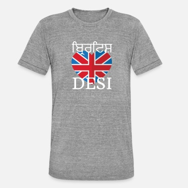 Desi BRITISH DESI - Triblend-T-shirt unisex från Bella + Canvas