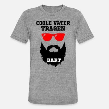 e8803502ef8a61 Bart Sprüche Coole Väter tragen Bart - Geschenk, Bart Spruch - Unisex T- Shirt