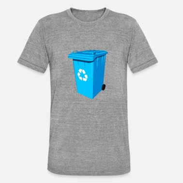 Sustainable Development Recycling ton of paper ton sustainability - Unisex Tri-Blend T-Shirt by Bella & Canvas