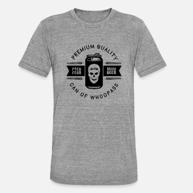 Cold Can Of Whoopass - Unisex Tri-Blend T-Shirt
