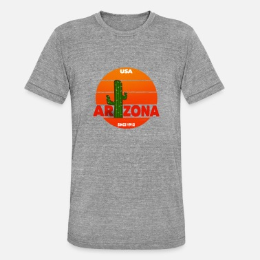 Arizona Arizona - T-shirt chiné unisexe