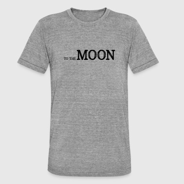 To The Moon - To the moon - Koszulka Bella + Canvas triblend – typu unisex