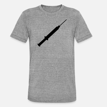 Injection injection - T-shirt chiné unisexe