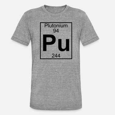 Plutonium Element 094 - Pu (plutonium) - Full - Triblend T-shirt unisex