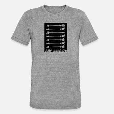 New Directions Be Different be different be you arrows gift idea - Unisex Tri-Blend T-Shirt