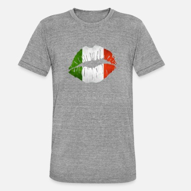 Italy Rome Italy Rome - Unisex Tri-Blend T-Shirt by Bella & Canvas