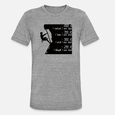 cf82c7f5f72adf Arrampicata - scalatore - idea regalo Maglietta premium uomo ...
