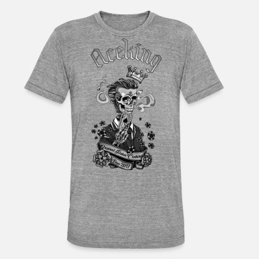 Poker ACEKING - Triblend T-shirt unisex