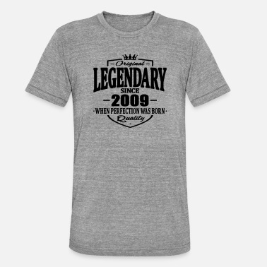 2009 Legendarisk sedan 2009 - Triblend T-shirt unisex