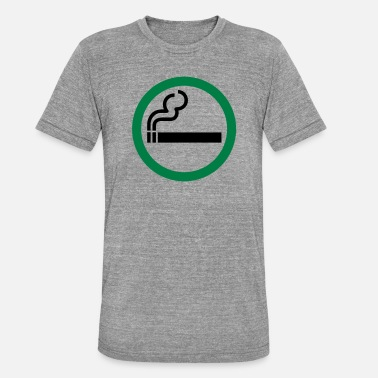 Allowed smoking allowed - Unisex Tri-Blend T-Shirt