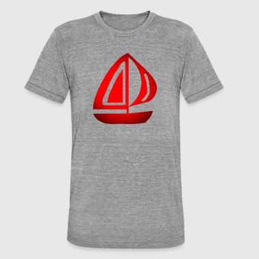 Segeln - Unisex Tri-Blend T-Shirt von Bella + Canvas