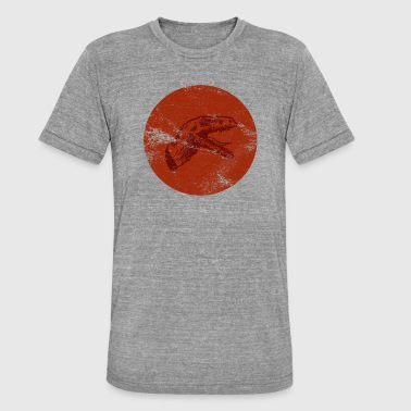 Dino - Dinosaur - raptor red - Unisex Tri-Blend T-Shirt by Bella & Canvas