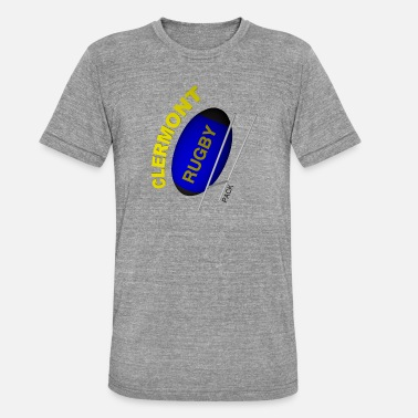 Clermont Rugby CLERMONT Rugby - Unisex Tri-Blend T-Shirt