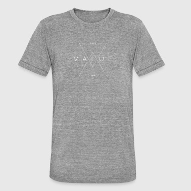 VALOR - Camiseta Tri-Blend unisex de Bella + Canvas