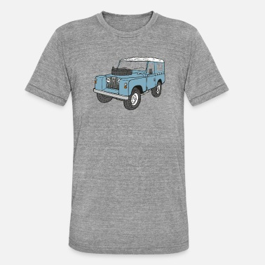 Rover Landy Land Rover Series2a 4x4 Off-Road - Unisex triblend T-shirt