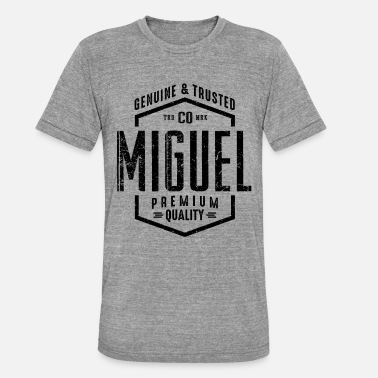 Miguel MIGUEL - T-shirt chiné Bella + Canvas Unisexe