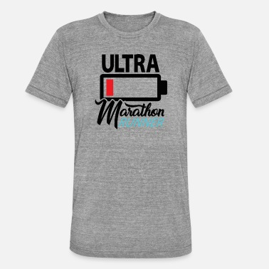 Ultramarathon Ultramarathon Runner - Premium Design - Unisex Tri-Blend T-Shirt von Bella + Canvas
