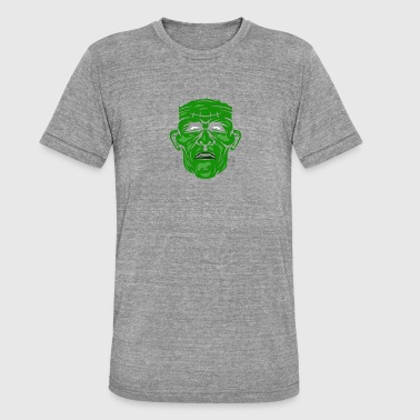 Frankenstein Monster Science Fiction - Koszulka Bella + Canvas triblend – typu unisex