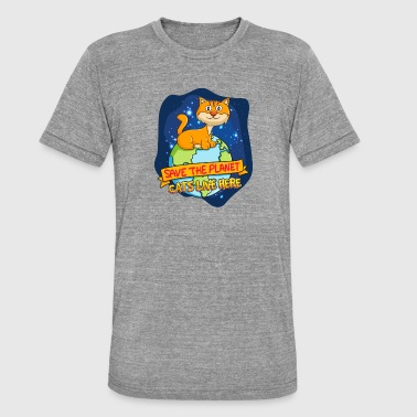 kinderen - Unisex tri-blend T-shirt van Bella + Canvas