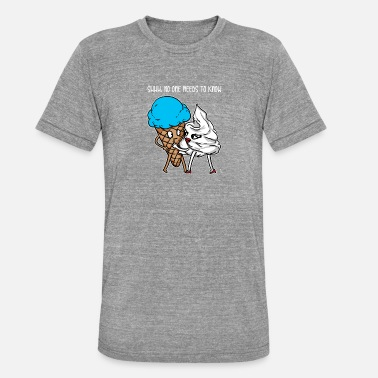 Cool Whip Ice cream and whip cream gift - Unisex Tri-Blend T-Shirt by Bella & Canvas