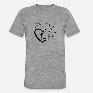Perfect Couple Perfect Love - couple - Unisex Tri-Blend T-Shirt by Bella & Canvas