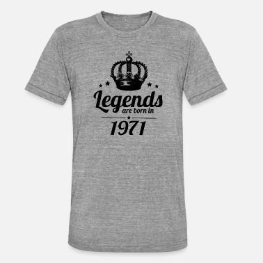 Legend 1971 Legends 1971 - Unisex triblend T-shirt