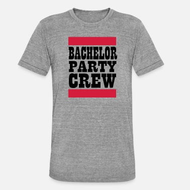 Party Time Bachelorette Bachelor Bride Bridal Party JGA - Unisex Tri-Blend T-Shirt