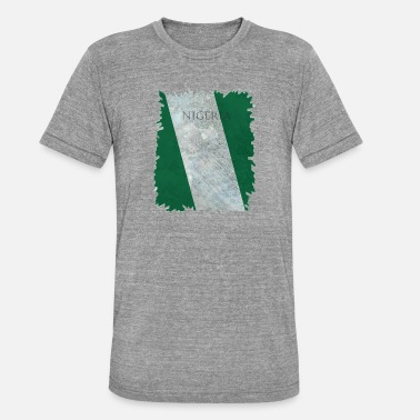 Nationalfarben Nigeria Nationalfarben - Unisex Tri-Blend T-Shirt von Bella + Canvas
