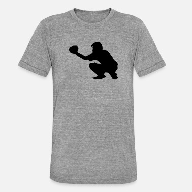 Catcher Softball Sport - Unisex triblend T-shirt