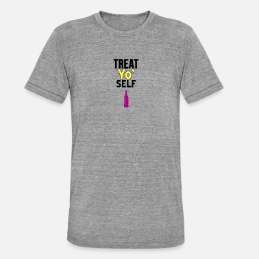 Treat Treat Yo Self - Unisex Tri-Blend T-Shirt