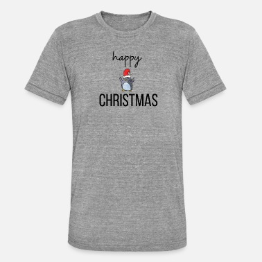 Happy Christmas happy christmas - T-shirt chiné unisexe