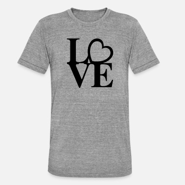 Heart Love Art - Unisex triblend T-shirt
