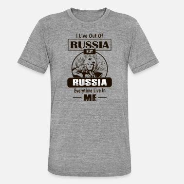 ee8646120 Russia! Russian Power! Patriot of Russia! - Unisex Tri-Blend T-