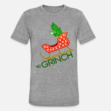 Grinch Cynical Grinch ønsker at stjæle julegave - Unisex tri-blend T-shirt fra Bella + Canvas